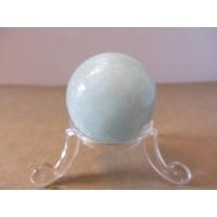Aquamarine sphere 25-35mm