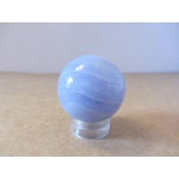 Blue Lace Agate sphere 25mm